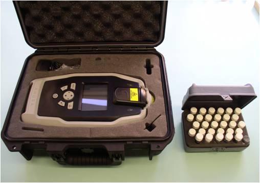 Mobilní Ramanův spektrometr Ahura First Defender